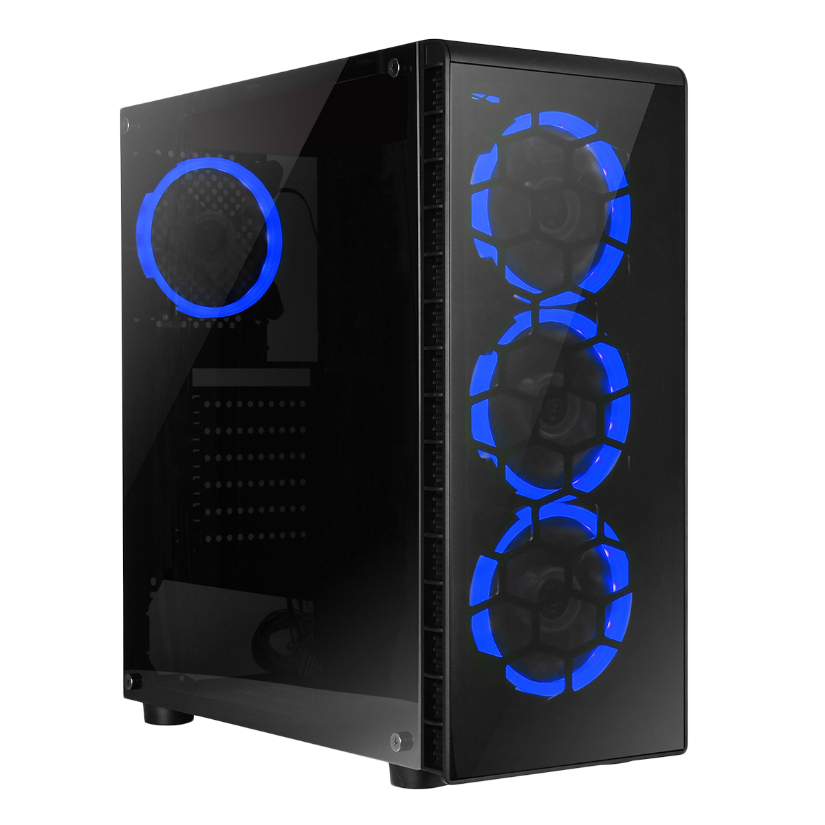 HST Raider Blue i5 Quad Core GTX 4GB 1050Ti Gaming PC