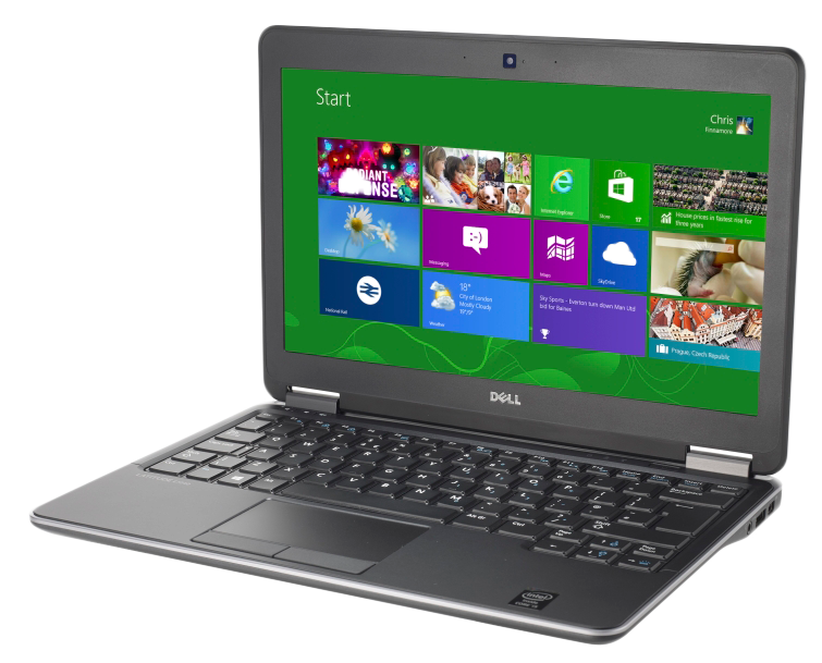 Dell Latitude E7240 Ultrabook Laptop i5-4300U 1.90GHz 4GB RAM 250GB HDD (Customisable)