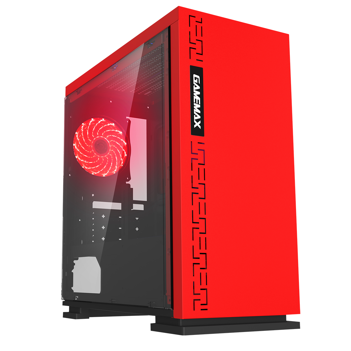 HST Expedition Red i5 Quad Core GTX 4GB 1050Ti Gaming PC