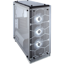 Corsair Crystal Series White 570X RGB Mid Tower 2 x USB 3.0 Fully Enclosed Tempered Glass Case
