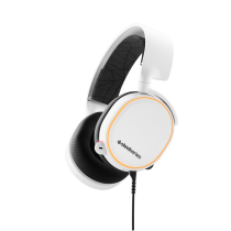 SteelSeries Arctis 5 White Gaming Headset (2019 Edition)