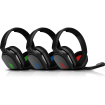 Astro A10 Gaming Headset - Black & Red/Green/Blue