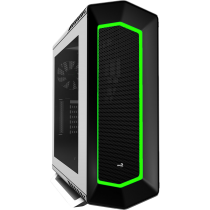 Project 7 P7C1 White Mid Tower case With 8 Colour LED Mode and PWM Fan Support