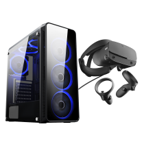 HST Blaze Ryzen 5 2600 8GB GTX1660 6GB Customisable Oculus VR PC Bundle