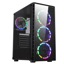 HST Raider RGB Intel i3-9100F 8GB RAM RX590 8GB Customisable Gaming PC