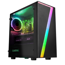 HST Seven G Series 8GB RAM 500GB GT710 NVIDIA Customisable Gaming PC