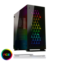Onyx RGB Mid Tower ATX 3 x RGB Fans Tempered Glass Sides & Front