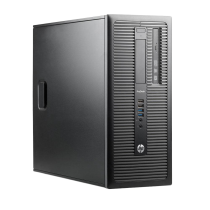 Hp ProDesk 600 G1 TWR Intel Core i3-4130 CPU 3.40GHz 4GB RAM 250GB Hard Drive