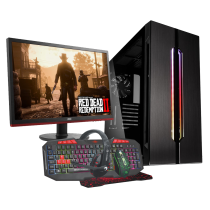 HST All in One Red Dead Redemption Ryzen 7 2700 Gaming PC Bundle