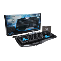 E-Blue Cobra Combatant EX Black USB Air-Flowing Gaming Keyboard