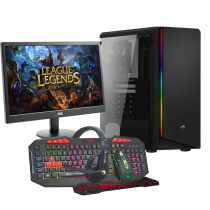 HST All in One LoL A8 9600 Customisable Gaming PC Bundle