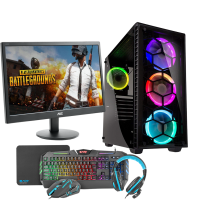 HST All in One PUBG Ryzen 5 2600 Gaming PC Bundle