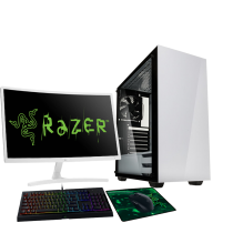 HST All in One Razer Stronghold Intel i3-8100 Gaming PC Bundle