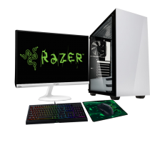 HST All in One Razer Stronghold Intel i3-8100 Customisable Gaming PC Bundle