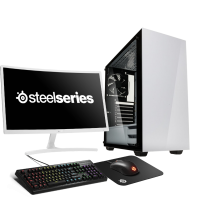 HST All in One Steelseries Stronghold Ryzen 5 2400G Gaming PC Bundle